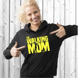 Walking Mom  (T-Shirt / Sweat) Mãe