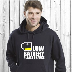 Low Battery Please Charge (T-Shirt / Sweat)