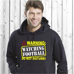 Watching football (T-Shirt / Sweat)