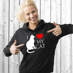 I love my cat (T-Shirt / Sweat)