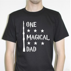 One Magical Dad shirt tshirt sweat dia do pai engraçada